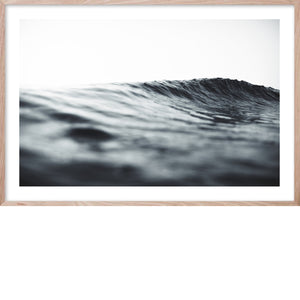 SERENITY 1 Soft Wave Contemporary and Hampton's style coastal wall art