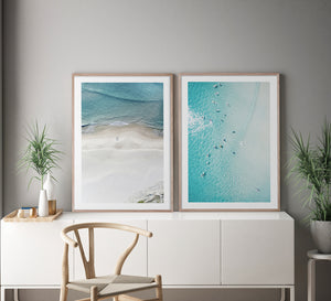 SUMMER FLOAT #2 * Coastal style photographic interior wall art