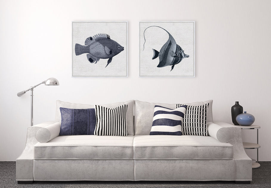 Tropical Fish Collection #4 Canvas