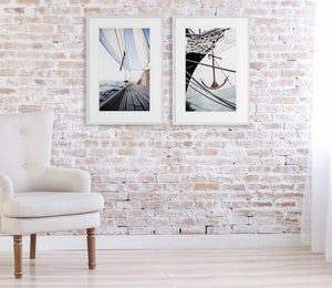 Sail Away 1 & 2 Pair - Coastal, Hampton's style wall art