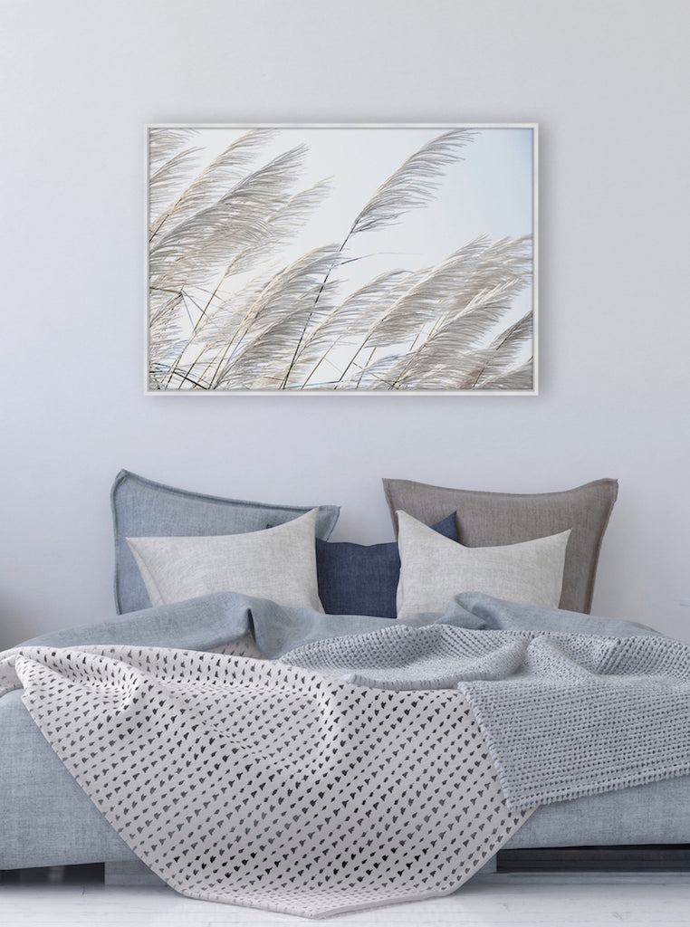 Pampas Breeze #1 Canvas Print | Beach Style Wall Art by Wall Style