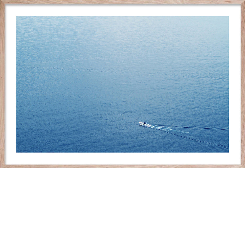 SPEED BOAT MOTION * Contemporary, photographic, fine wall art print