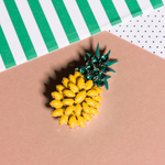 Pineapple Brooch - Fouxx.com