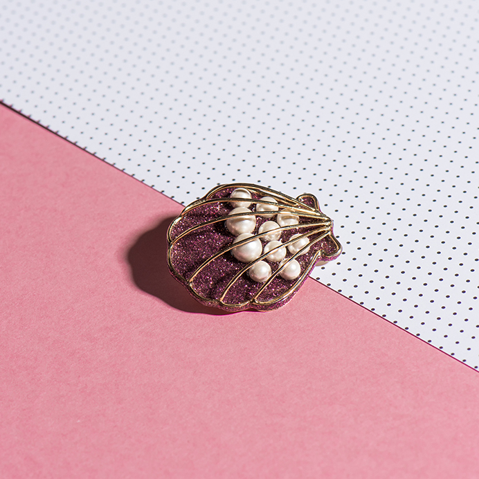 Shell Brooch - Fouxx.com