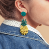 Pineapple Earrings - Fouxx.com