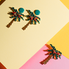 Palm Tree Earrings - Fouxx.com