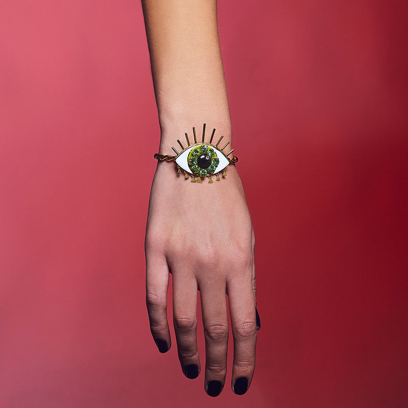 Eye Green Bracelet - Fouxx.com