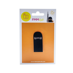 Black Niqab Pin