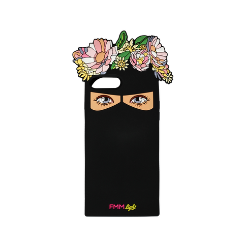 Floral Niqab Iphone Case