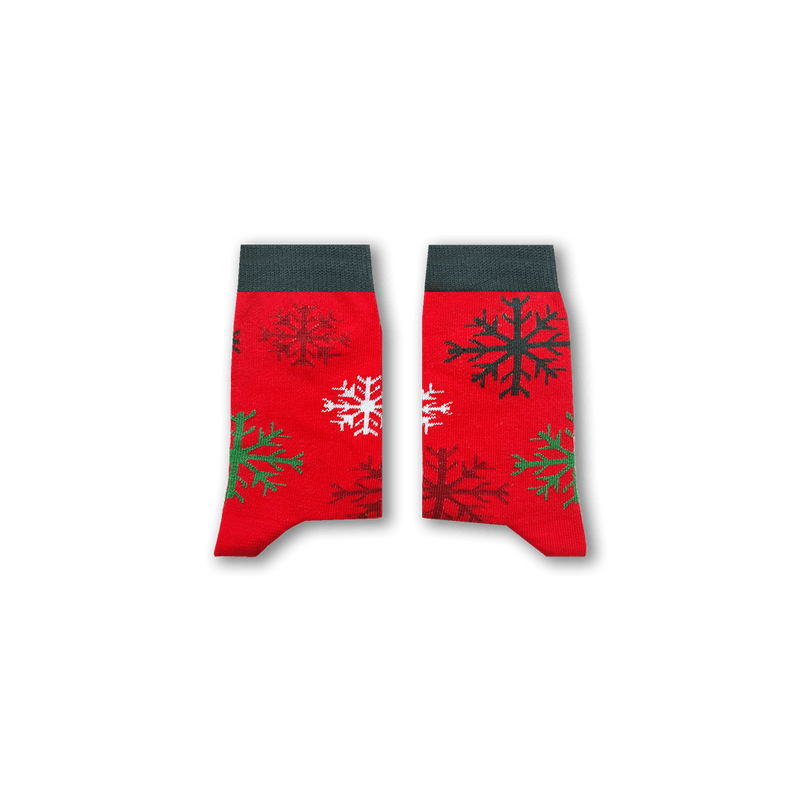Snowflake Kids Socks
