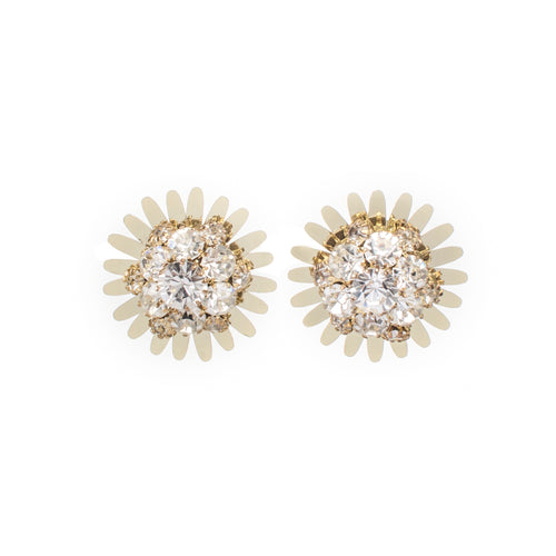 Girasole Clip On Earrings - Fouxx.com