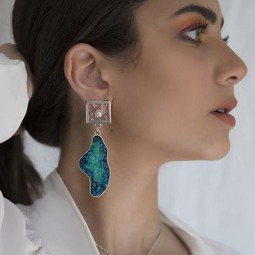 Lagoon Earrings - Fouxx.com