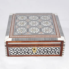 Square Wooden Box Large