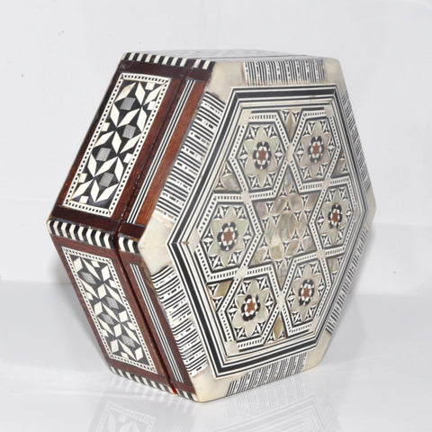 Hexagon Wooden Box Medium