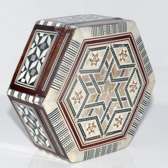 Hexagon Wooden Box Large
