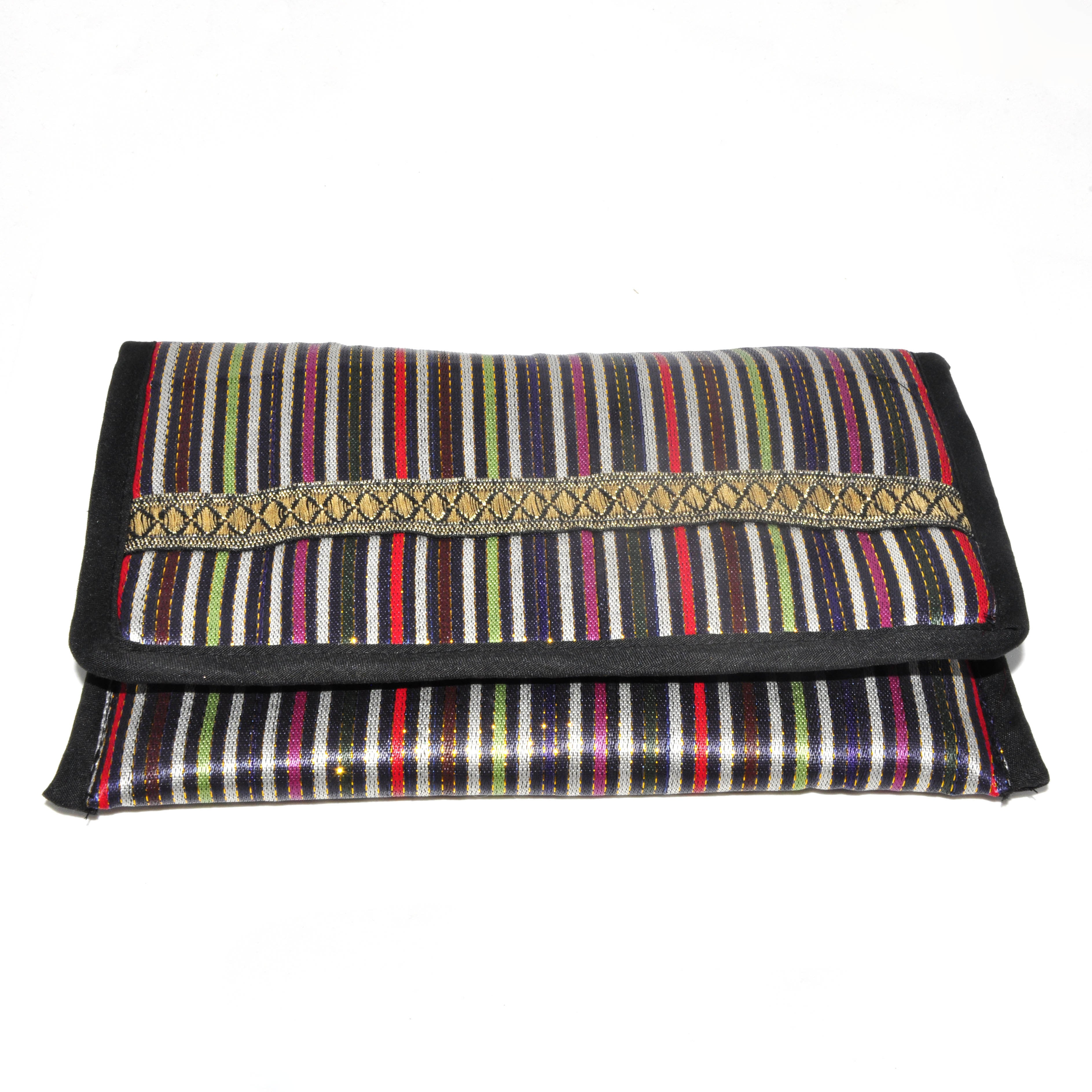 Makeup Pouch with mirror - Multicolor
