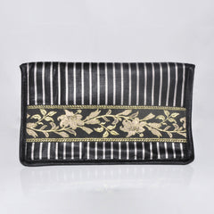 Makeup Pouch with mirror - Black
