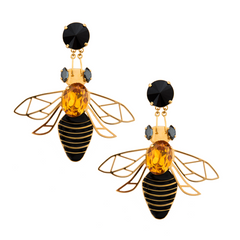 Bee Long Earrings