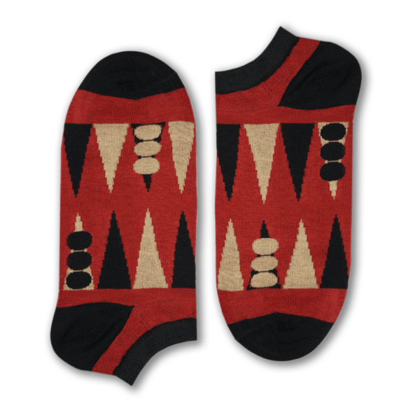 Backgammon Short Socks - Fouxx.com