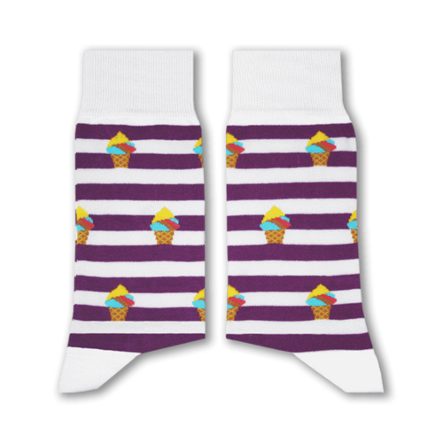 Booza Socks (Purple) - Fouxx.com