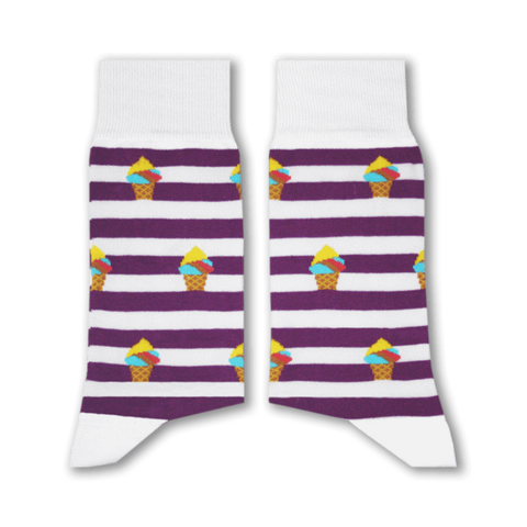Booza Socks (Purple)