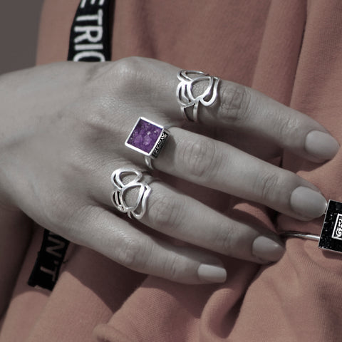 Core Ring - Amethyst