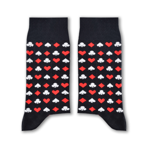 Cards Socks (Black)