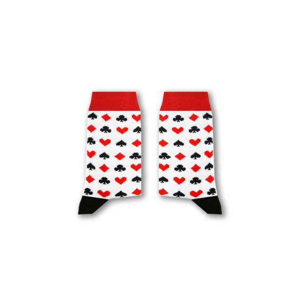 Cards Kids' Socks - Fouxx.com