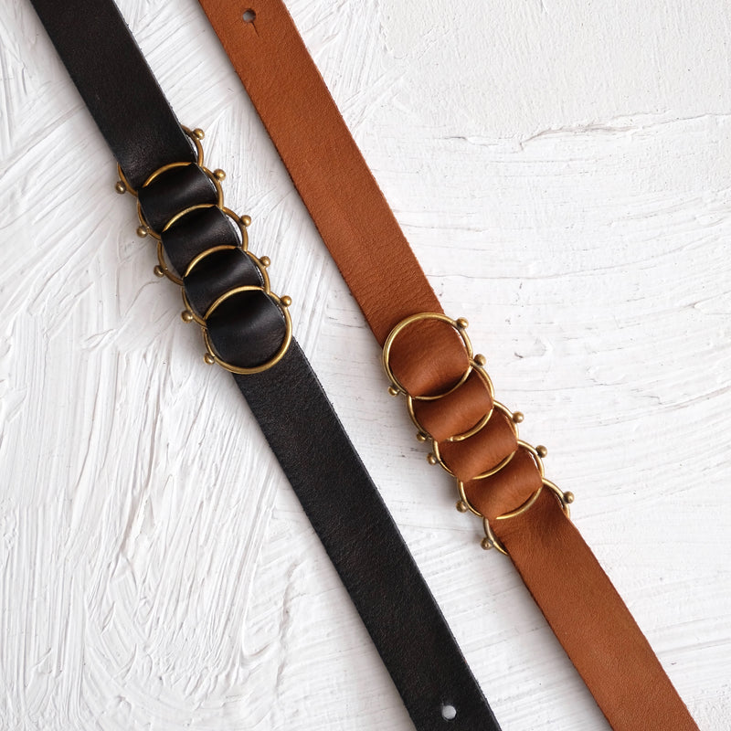 Hebba Leather Choker - Black - Fouxx.com