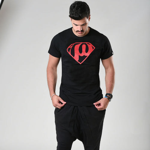Superman Black T-shirt - Fouxx.com