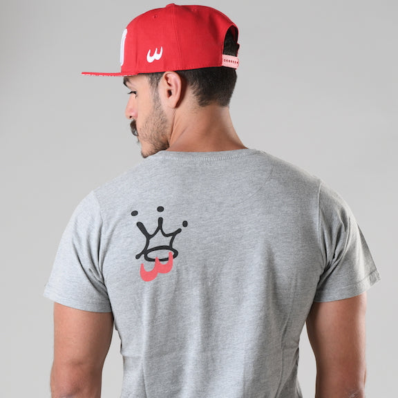 King Grey T-shirt - Fouxx.com
