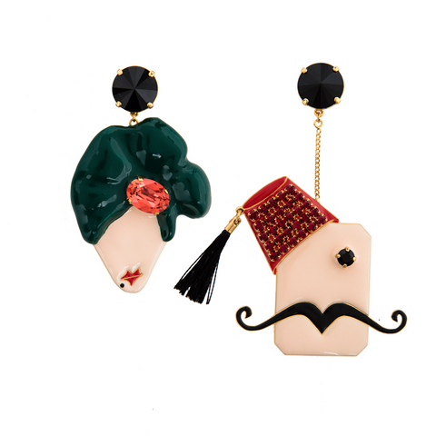 Abu Reda and Em Reda Earrings