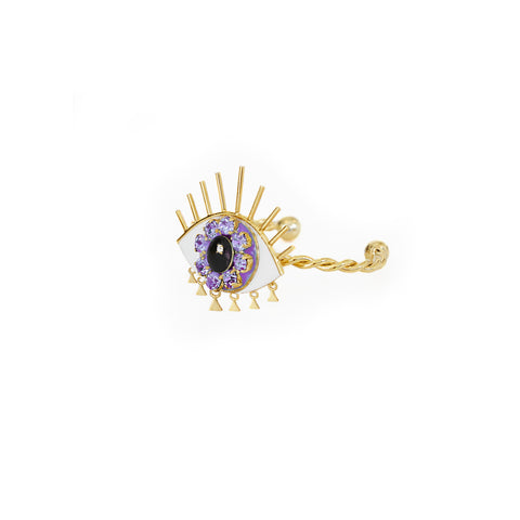 Eye Purple Bracelet