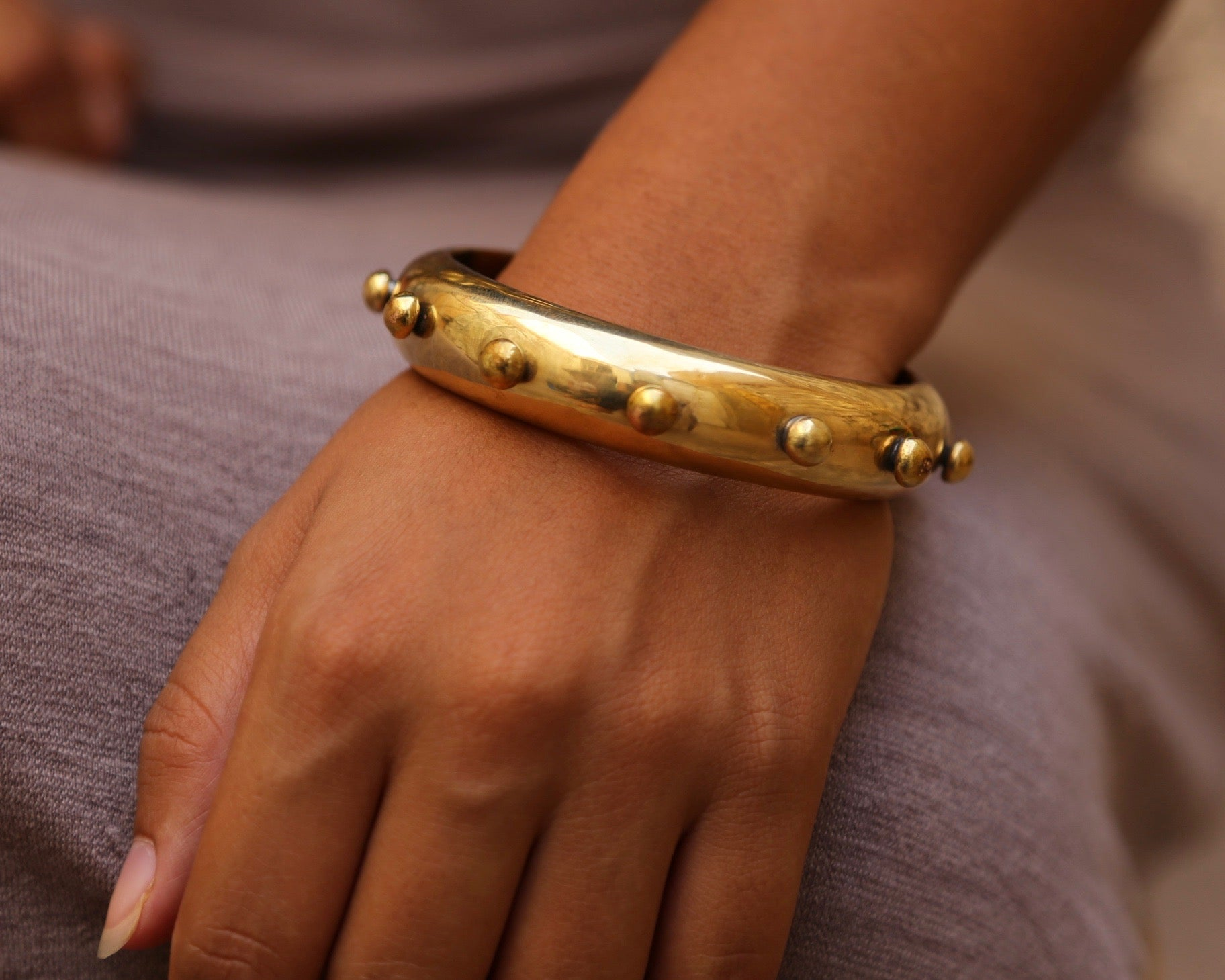 Hebba Bangle - Thick