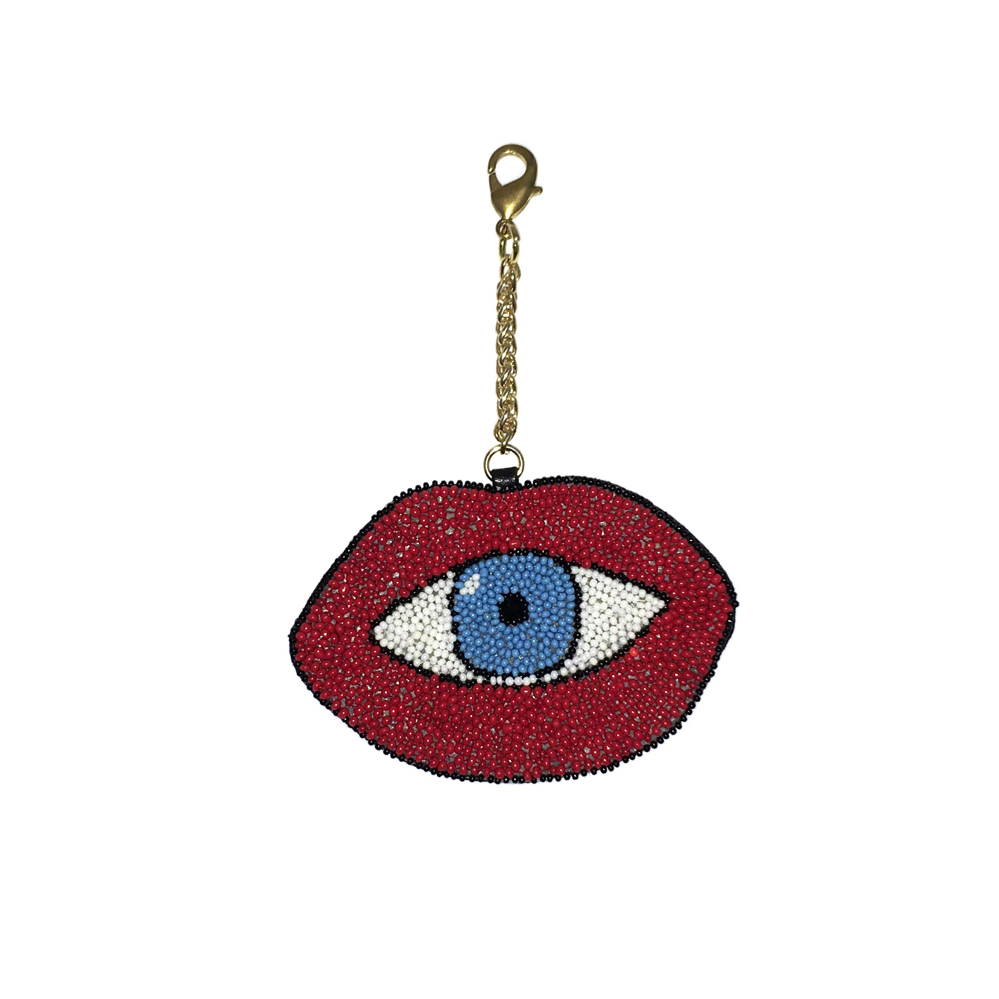 Blue Eye Bag Charm