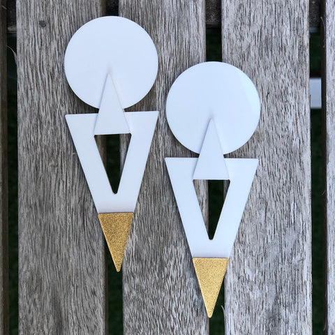 Rocket - White/Gold
