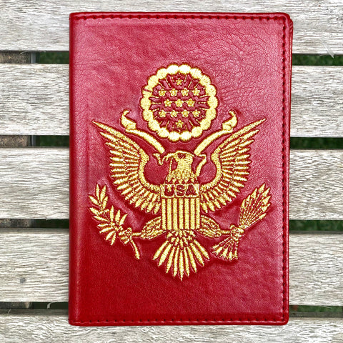 Red - USA Passport Cover