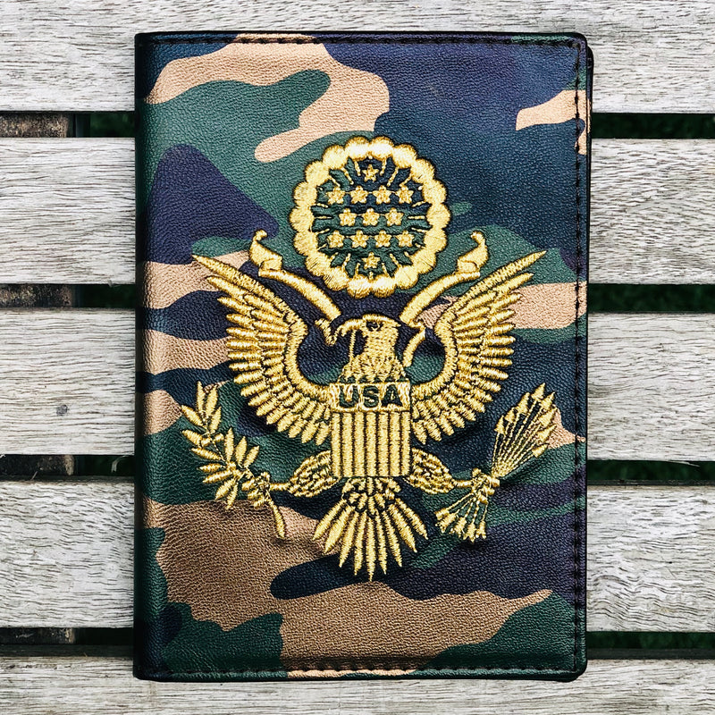 Military - USA Passport Cover - Fouxx.com