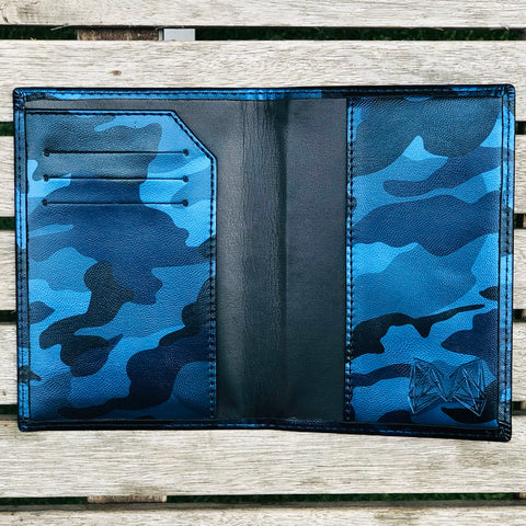 Blue Camo - Lebanon Passport Cover