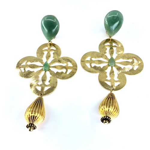 Noura Clip On Earrings - Fouxx.com