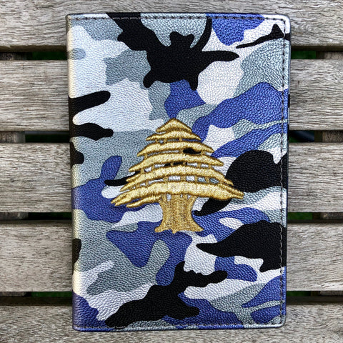 Purple Camo - Lebanon Passport Cover