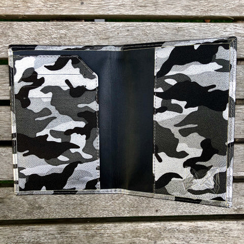 Silver Camo - Lebanon Passport Cover