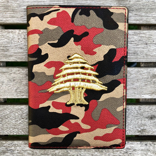 Red Camo - Lebanon Passport Cover - Fouxx.com