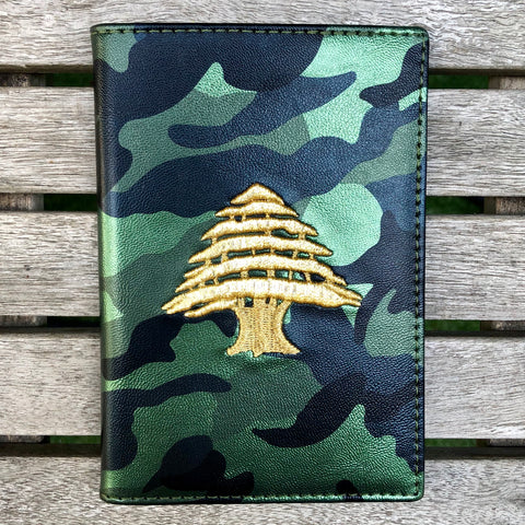 Green Camo - Lebanon Passport Cover