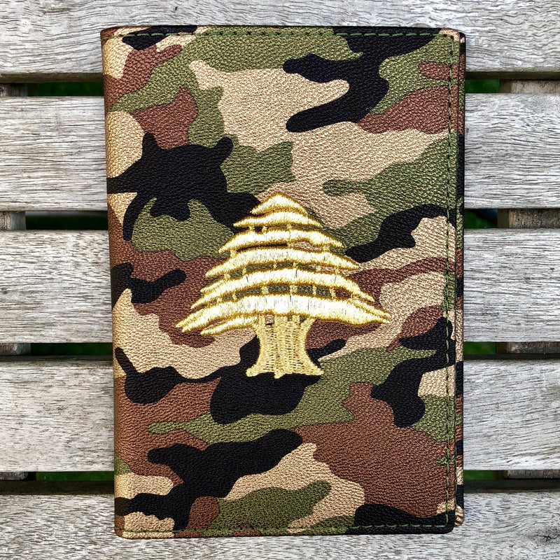 Army Camo - Lebanon Passport Cover - Fouxx.com