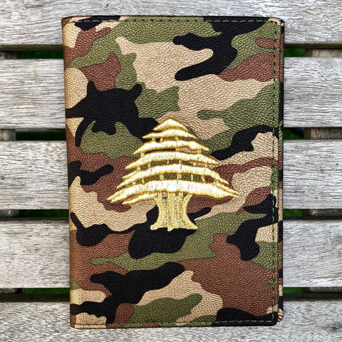 Army Camo - Lebanon Passport Cover