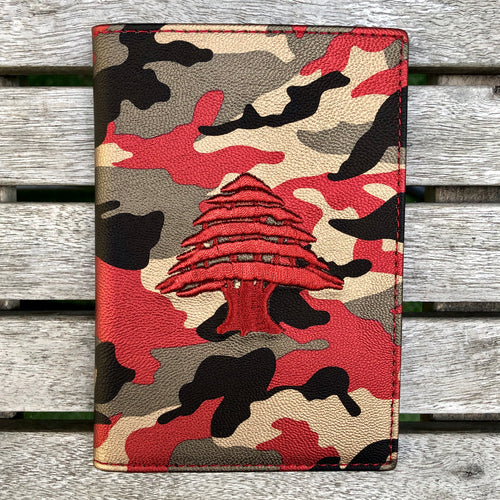 Red on Red Camo - Lebanon Passport Cover - Fouxx.com