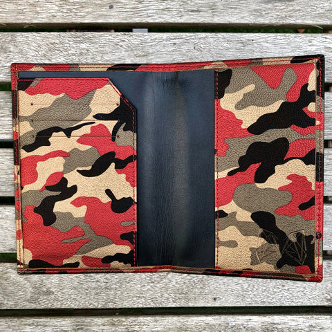 Red on Red Camo - Lebanon Passport Cover