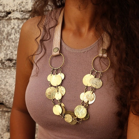 Floos Tri-strand Necklace