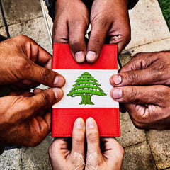 Lebanon Flag - Passport Cover
